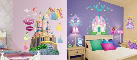 современные обои для детской комнаты девочкам