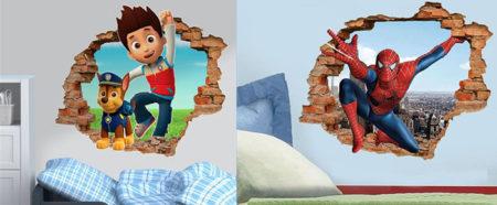 современные обои для детской комнаты мальчикам