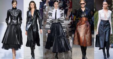 плиссированные юбки тенденции 2020-2021 фото