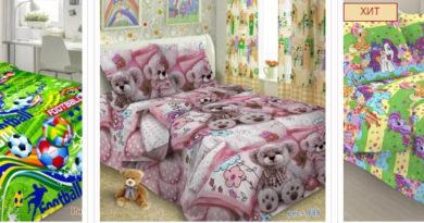 постельное детское белье выбор