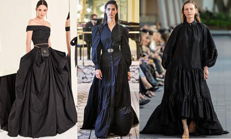 черные платья фото тенденции 2020-2021