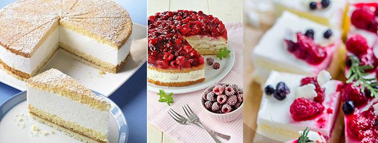 рецепт торта пп с суфле с творогом