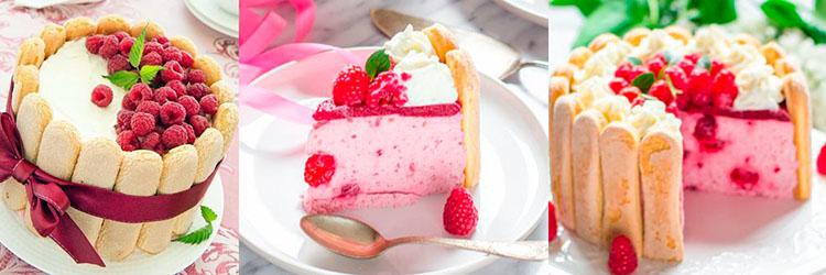 торт диетический шарлотт