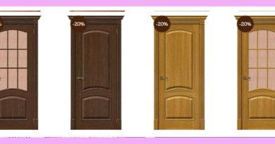 шпонированные двери выбор