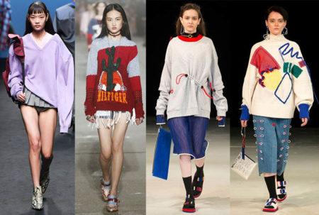 модные толстовки свитшоты 2021 тенденции