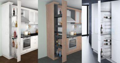 выдвижная модульная система кухня
