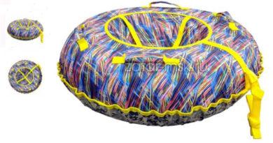 как выбрать: надувная ватрушка санки тюбинг