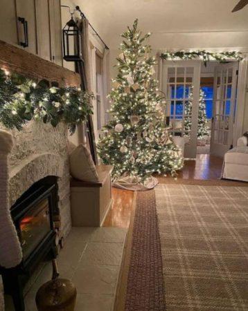 как украсить дом в новый год 2022