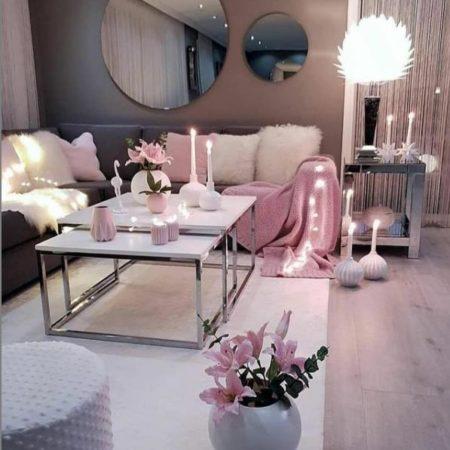 красивый интерьер гостиной текстиль 2022