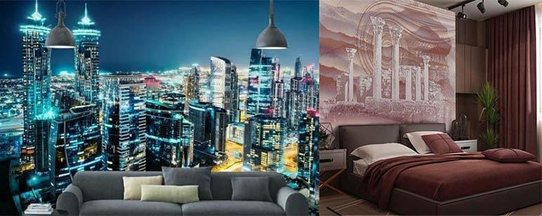 фотообои город мегаполис
